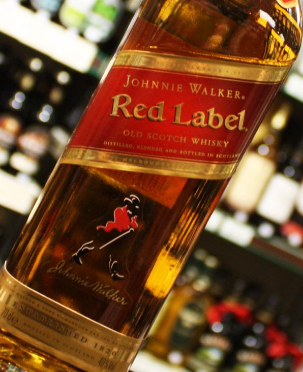 Review johnnie walker red label uisce beatha