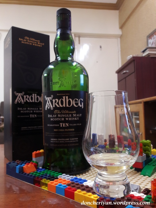 Review Ardbeg 10 year old