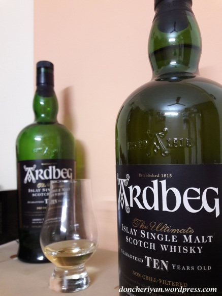 Review Ardbeg 10 YO