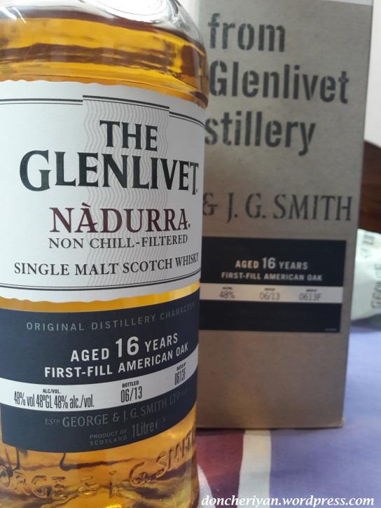 Review Glenlivet Nadurra first fill american oak