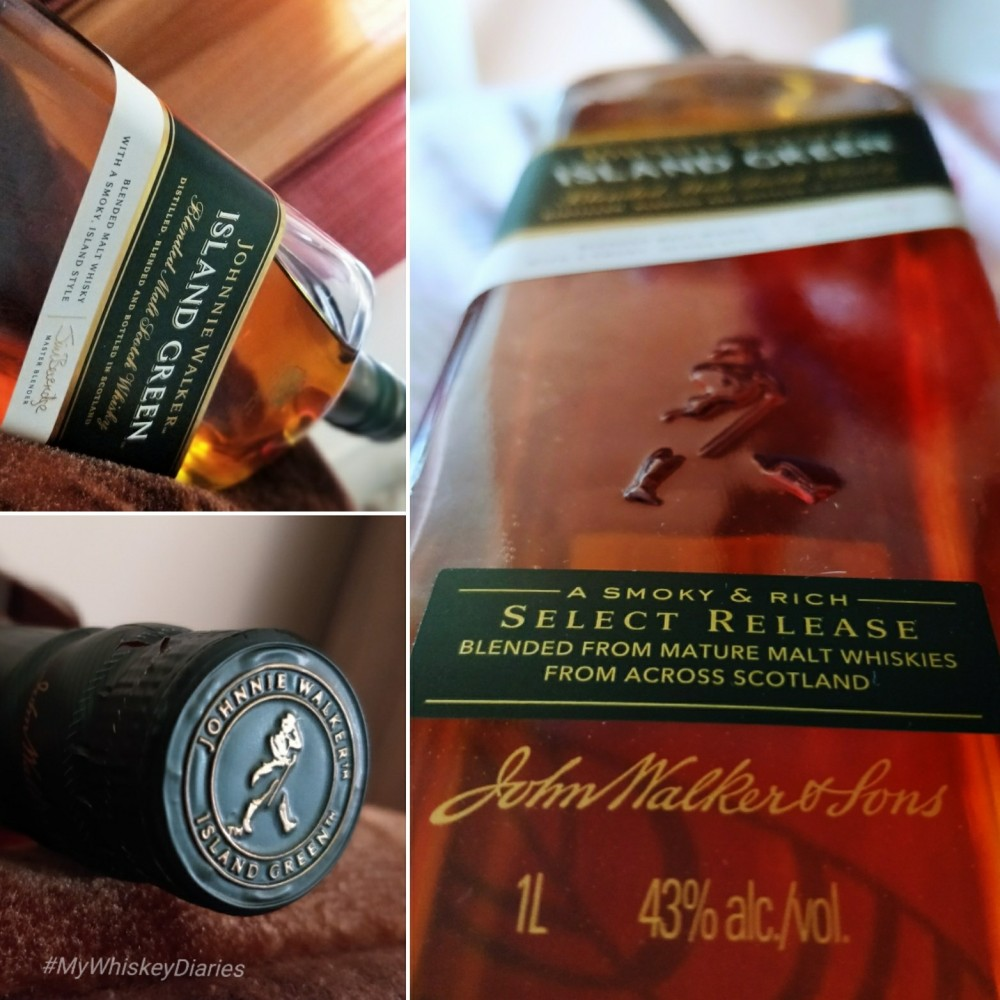 Review Johnnie Walker Green Island