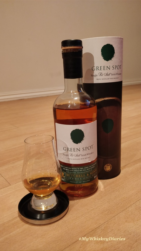 Review Green Spot Pot Still
