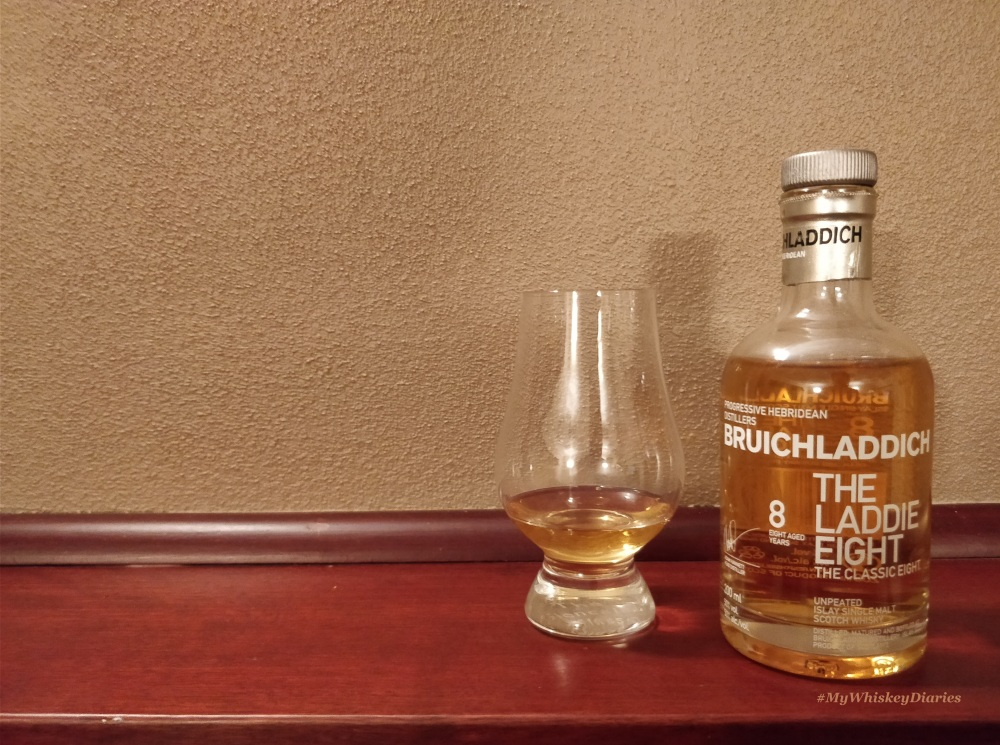 Review Bruichladdich Laddie Eight