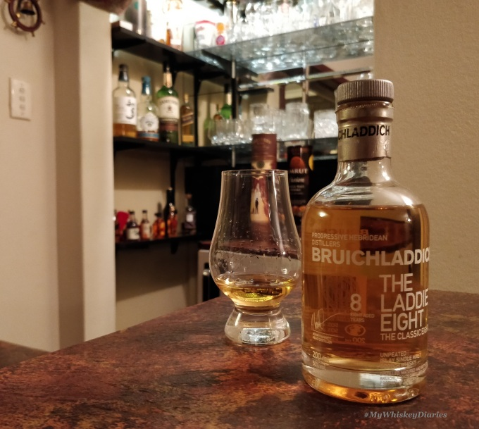 Review_Bruichladdich Laddie Eight