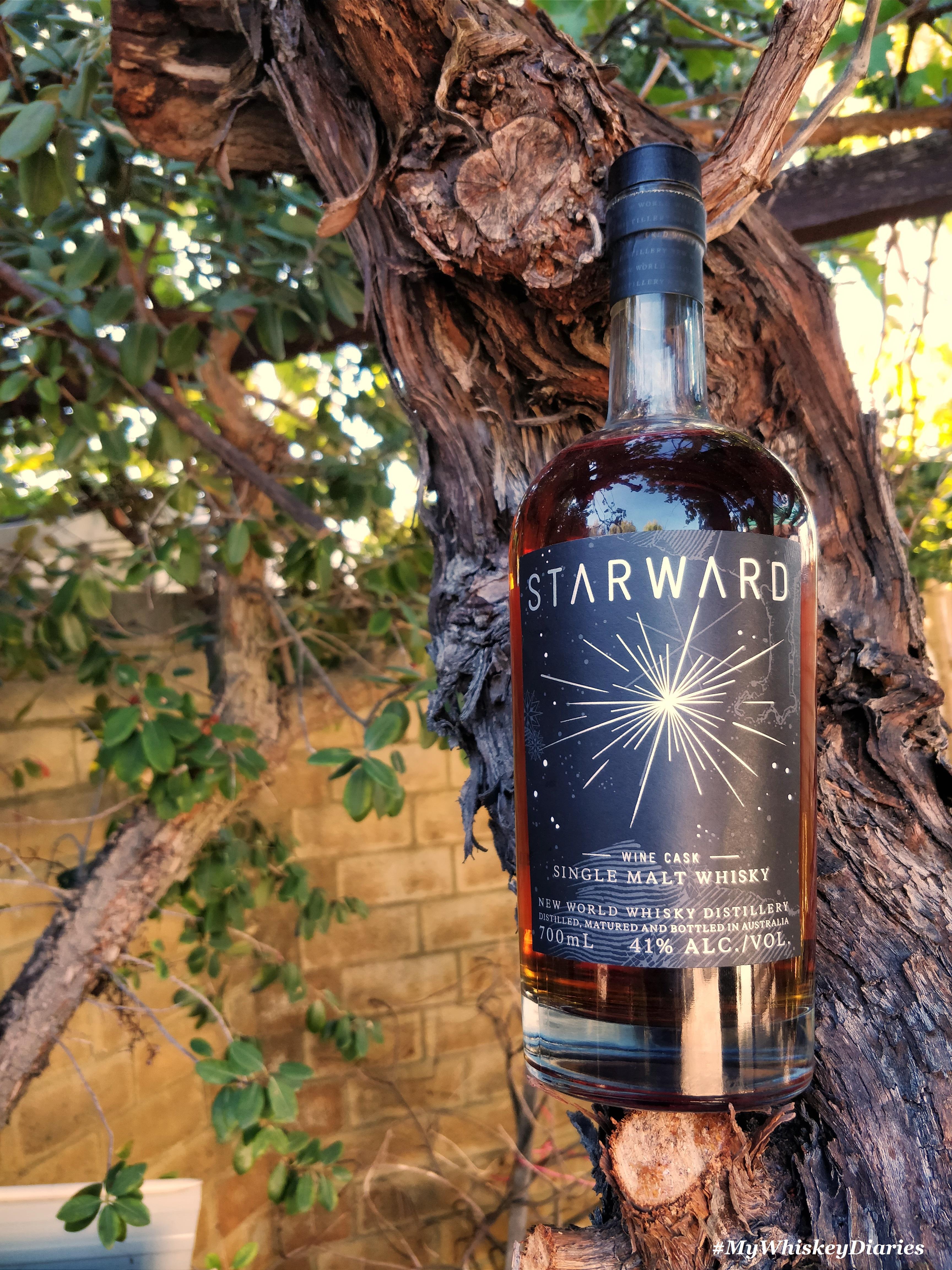 Review Starward Wine Cask Single Malt Whisky Uisce Beatha My