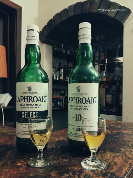 Laphroaig Ten vs Select
