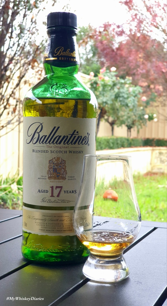 Ballantines 17 Year old review